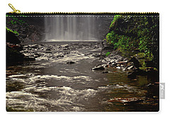 Carry-all Pouch featuring the photograph Looking Glass Falls 009 by George Bostian