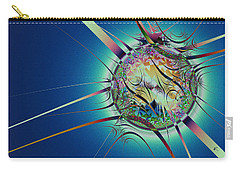 Carry-all Pouch featuring the digital art Looking Glass by Kiki Art