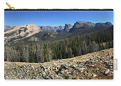 Looking Into The Bridger Wild Lands Carry-all Pouch