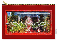 Carry-all Pouch featuring the photograph Looking Into The Garden by Thom Zehrfeld