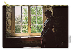 Looking Out Of The Window Carry-all Pouch
