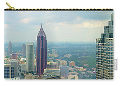 Carry-all Pouch featuring the photograph Looking Out Over Atlanta by Mike McGlothlen