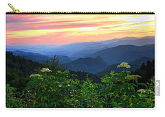 Looking Out Over Woolyback On The Blue Ridge Parkway  Carry-all Pouch