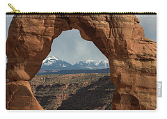 Looking Through Delicate Arch Carry-all Pouch