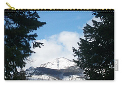 Carry-all Pouch featuring the photograph Looking Through by Jewel Hengen