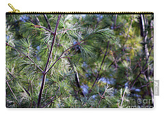Looking Through The Pine Needles Carry-all Pouch