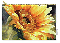 Looking To The Sun Carry-all Pouch by Bonnie Rinier