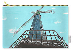Looking Up At A Windmill Carry-all Pouch