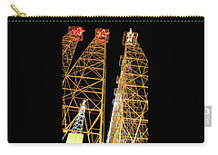 Looking Up At The Kilgore Lighted Derricks Carry-all Pouch
