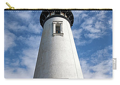 Carry-all Pouch featuring the photograph Looking Up At The Lighthouse by Mary Jo Allen