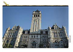 Looking Up At The Trump Hotel Carry-all Pouch