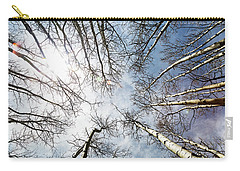 Looking Up On Tall Birch Trees Carry-all Pouch