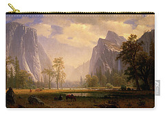 Looking Up The Yosemite Valley  Carry-all Pouch