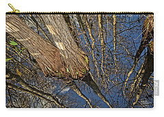 Carry-all Pouch featuring the photograph Looking Up While Looking Down by Debra and Dave Vanderlaan