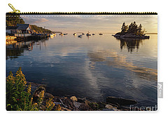 Carry-all Pouch featuring the photograph Lookout Point, Harpswell, Maine  -99044-990477 by John Bald