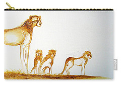 Lookout Post - Original Artwork Carry-all Pouch