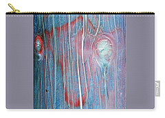 Carry-all Pouch featuring the photograph Looks Like A Steer In The Headlights by Lenore Senior