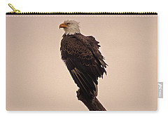 Carry-all Pouch featuring the photograph Looks Like Reign by Robert Geary