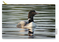 Loon 1 Carry-all Pouch by Steven Clipperton