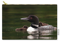 Loon Chicks Carry-all Pouch