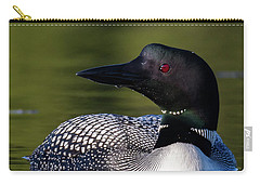 Loon Close Up Carry-all Pouch
