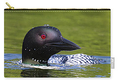 Loon Droplets Carry-all Pouch