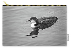 Carry-all Pouch featuring the photograph Loon  by Trace Kittrell