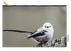 Carry-all Pouch featuring the photograph Loong Tailed by Torbjorn Swenelius