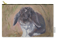 Lop Eared Rabbit- Socks Carry-all Pouch