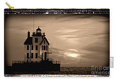 Lorain Lighthouse - Lake Erie - Lorain Ohio Carry-all Pouch
