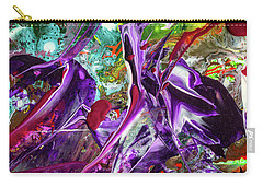 Lord Of The Rings Art - Colorful Modern Abstract Painting Carry-all Pouch