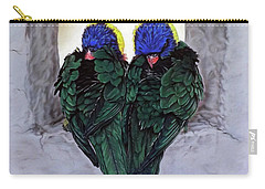 Lorikeets Carry-all Pouch