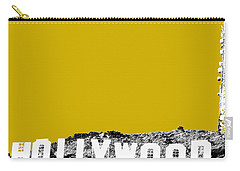 Los Angeles Skyline Hollywood - Gold Carry-all Pouch
