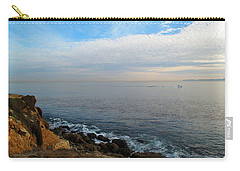 Carry-all Pouch featuring the photograph Los Angeles Sunset by Joan  Minchak