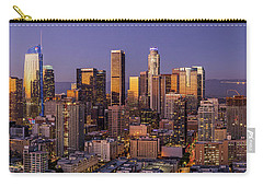Los Angeles Twilight Panorama Carry-all Pouch