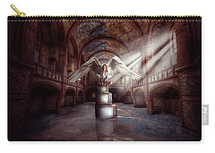 Carry-all Pouch featuring the digital art Losing My Religion by Nathan Wright