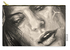 Carry-all Pouch featuring the photograph Losing Sleep ... by Juergen Weiss