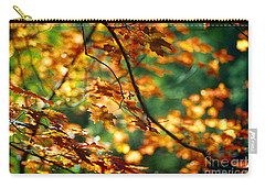 Lost In Leaves Carry-all Pouch by Kathy McClure