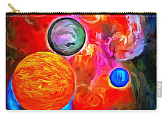 Lost In Space - Near The Sun Carry-all Pouch by Wayne Pascall