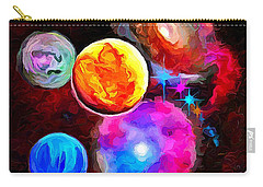 Lost In Space - Nebula 3 Carry-all Pouch by Wayne Pascall