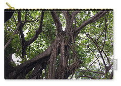 Lost In The Branches Carry-all Pouch by Val Oconnor