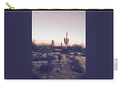 Lost In The Desert Carry-all Pouch