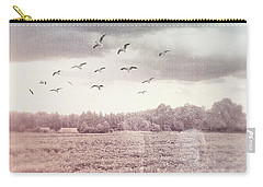Lost In The Fields Of Time Carry-all Pouch