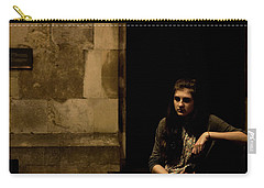 A Moment Of Melancholy, Lisbon Carry-all Pouch by Lorraine Devon Wilke