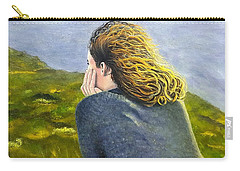 Lost In Thought Carry-all Pouch by Karyn Robinson