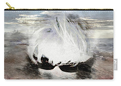 Carry-all Pouch featuring the photograph Lost In Thought by Pennie  McCracken