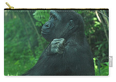 Carry-all Pouch featuring the photograph Lost In Thought by Richard Bryce and Family