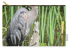 Lost Lagoon Heron Carry-all Pouch