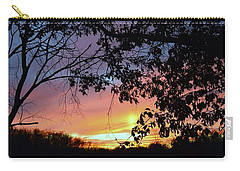 Lost Sunset Carry-all Pouch by J R Seymour