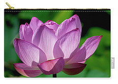 Carry-all Pouch featuring the photograph Lotus Beauty--buxom Beauty II Dl0090 by Gerry Gantt
